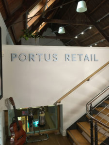 Portus Retail Wall Graphic